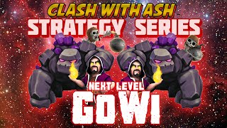 Clash Of Clans | TH10 4 Jump Mass Golem GoWiPe / GoWi 3 Star Strategy