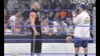 John Cena Disses Brock Lesnar & Attacks Chris beNoit