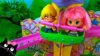 getlinkyoutube.com-Parque de Atracciones de Pinypon Juguetes - Vídeos de Juguetes