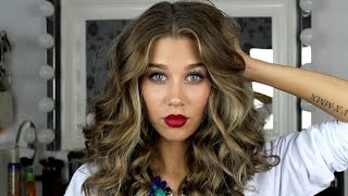 getlinkyoutube.com-Укладка для коротких волос/How I Style My Short Hair