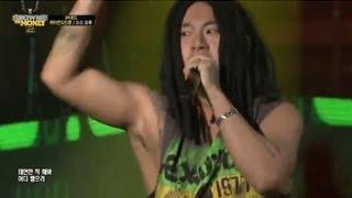 getlinkyoutube.com-[쇼미더머니2_7회] 제이켠(J'kyun) & 킹콩 (King Kong) -Scratch+Buffalo 2012(feat.스컬) @ 3차 공연
