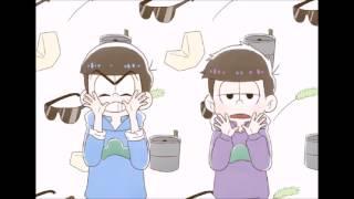 getlinkyoutube.com-【手描きおそ松さん】 次男と四男でグッキーダンス【おそ松さん】
