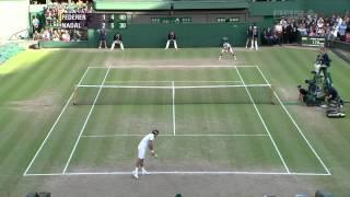 getlinkyoutube.com-Federer vs Nadal Wimbledon 2008 Highlights [HQ]