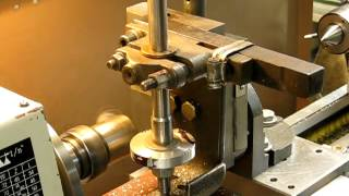 getlinkyoutube.com-Cutting gears on a lathe with a fly cutter