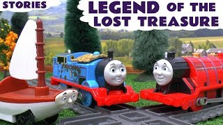 getlinkyoutube.com-Thomas The Train Tom Moss Naughty Prank Toy Trains Trackmaster Story Legend Of The Lost Treasure