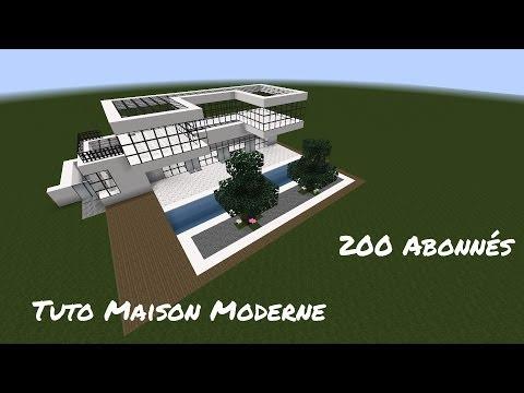 {Tuto-Fr} Minecraft - Construction D'une Maison Moderne - Spéciale 200 Abonnés - [1.7.2]