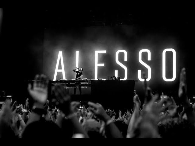 FALLING - ALESSO karaoke version ( no vocal ) lyric instrumental