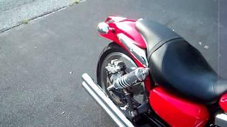 2003 Kawasaki Mean Streak 1500 Vance & Hines Longshot system.