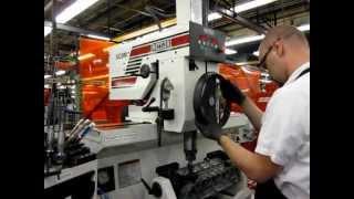 getlinkyoutube.com-Rottler SG9M - Fastest Seat Cutting Machine