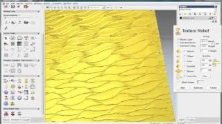 getlinkyoutube.com-How to create texture relief in Artcam
