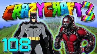 getlinkyoutube.com-Minecraft Crazy Craft 3.0: SUPER HEROES VS CHALLENGE MOD! #108 (Modded Roleplay)