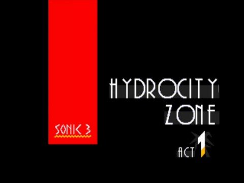 Sonic 3 Music: Hydrocity Zone Act 1 [extended]