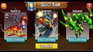 Dragon City - Random Fight | Part 48 [Full Combat & Skills 2017]