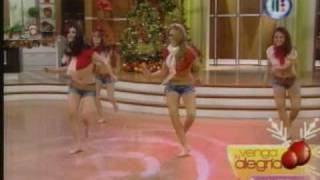 getlinkyoutube.com-Mariana Y El Ballet De Venga La Alegria - Feliz Navidad