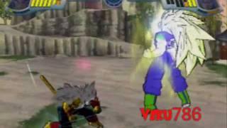 getlinkyoutube.com-Guardian Gohan VS Metal Baby Vegeta Ssj4 Gameplay 2