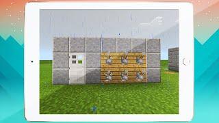 getlinkyoutube.com-MCPE PASSWORD LOCKED DOOR - Minecraft Pocket Edition Redstone Tutorial (PC/XBOX/PS4)