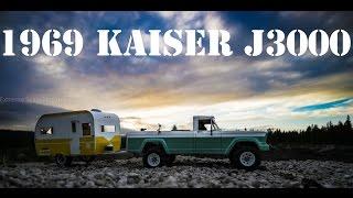 getlinkyoutube.com-ESP RC | 69' Kaiser J3000 Jeep Gladiator & Winnebago | Exploring Groundhog OHV