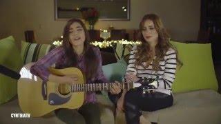 getlinkyoutube.com-Cynthia y Daniela Calvario - No Te Creas Tan Importante (Cover)