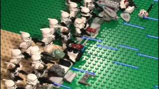 getlinkyoutube.com-Lego Star Wars Battle Part 1
