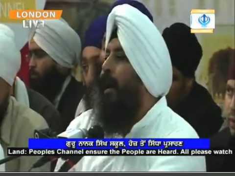 Bhai Satvinder Singh Delhi Wale Prakash Smagam 2012 Hayes, London