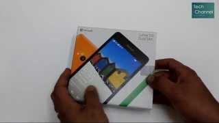 getlinkyoutube.com-مايكروسوفت لوميا 535 - فتح علبة ونظرة سريعة - Microsoft Lumia 535 - Unboxing & Quick Look