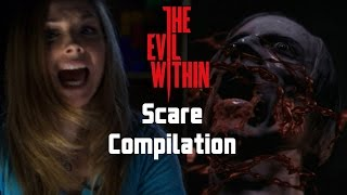 getlinkyoutube.com-Biggest Scares! - The Evil Within - Now Playing Highlights