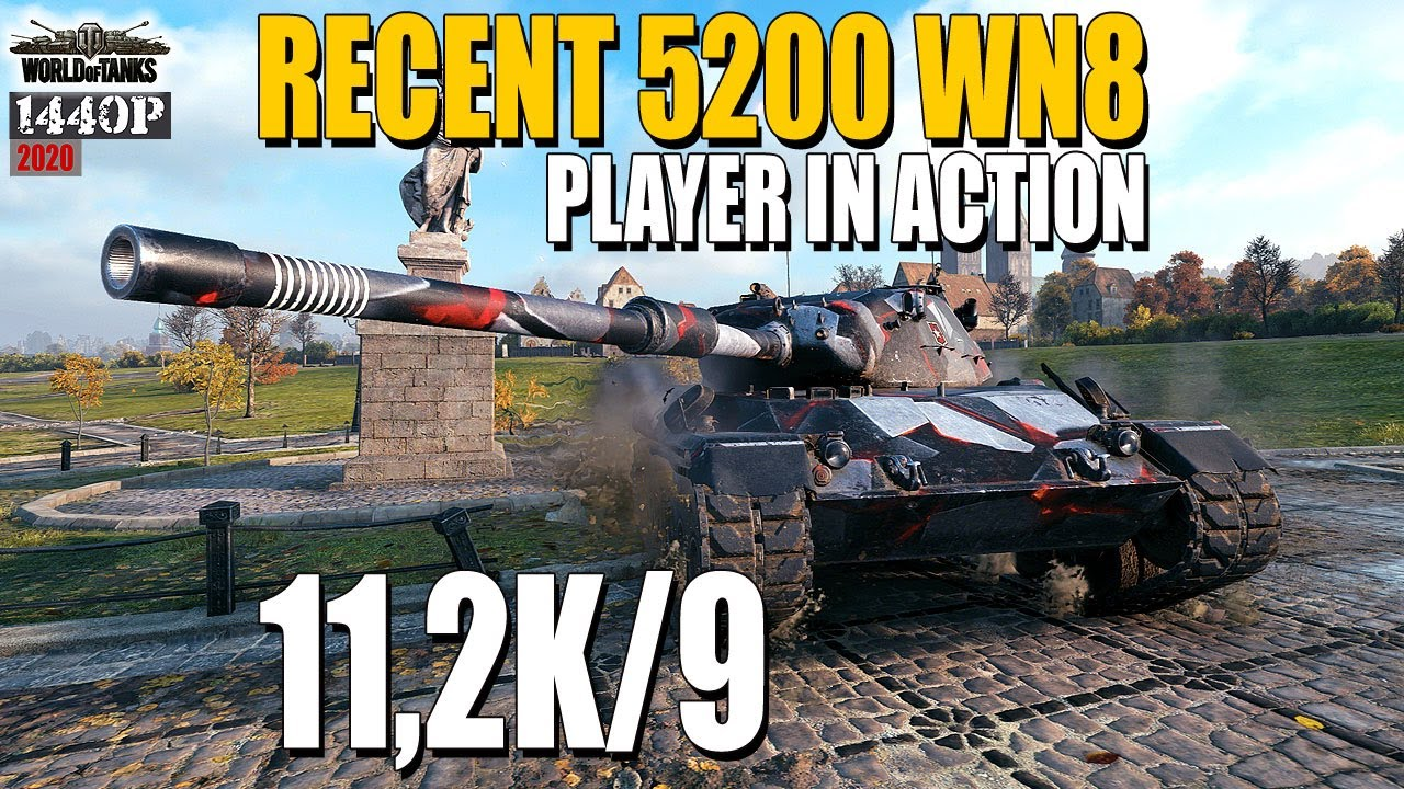 Leopard 1: Recent 5200 wn8 player in action
