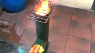getlinkyoutube.com-Cocina económica, Rocket stove