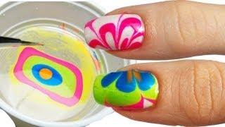 getlinkyoutube.com-Come Fare la Water Marble Nail Art