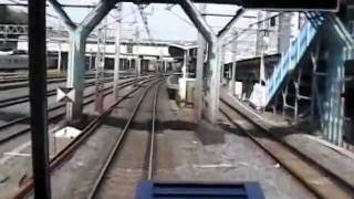 getlinkyoutube.com-【爆音】常磐線103系前面展望(その1/2)上野→松戸 2004.4