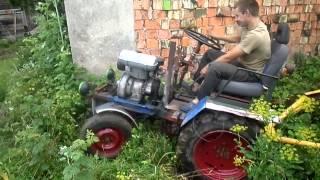 Самодельный трактор с двигателем ЗИД (handmade tractor)