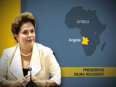 Angola: Presidenta Dilma discursa no congresso angolano