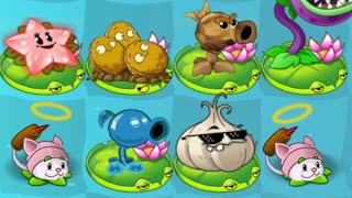 getlinkyoutube.com-Plants vs. Zombies 2 TEXTURE CHANGING! — Cattail, Angel Starfruit, Plasma Pea, Stuffy Flower