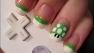 getlinkyoutube.com-Mario Mushroom Nail Art