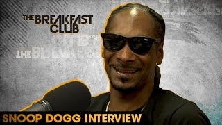 Snoop Dogg Interview With The Breakfast Club (8-11-16)