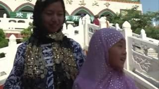 getlinkyoutube.com-Chinese Muslims celebrate Eid al-Fitr