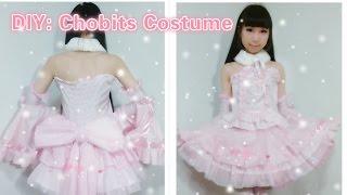 getlinkyoutube.com-DIY Anime inspired Kawaii outfits-How to make Chobits Chii costume/dress