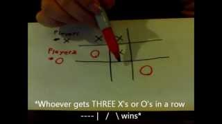 how to play tic tac toe