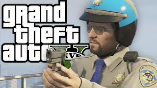 getlinkyoutube.com-GTA 5 - Working WITH the POLICE (Funny Moments In Grand Theft Auto V)
