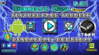 getlinkyoutube.com-Texture Pack Thunder   Geometry Dash 2.01   Android & Steam