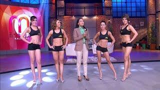 4 สาว กล้ามสวย ออกกำลังกายสร้างได้ [กาละแมร์ ep.57]