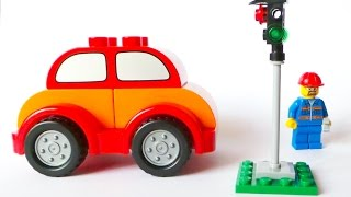 getlinkyoutube.com-Traffic lights in Lego city. Educational movie for kids.