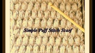 getlinkyoutube.com-How To Crochet A Puff Stitch Scarf