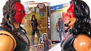getlinkyoutube.com-Mattel vs Poundland KANE WWE Action Figure Comparison
