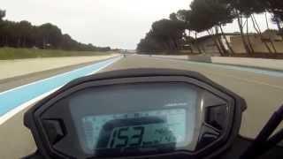 getlinkyoutube.com-CB500f 2014 Circuit du castellet vu devant