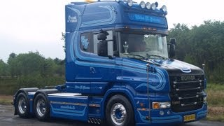 getlinkyoutube.com-SCANIA T580 V8 TORPEDO WITH LOUD PIPE # Ebbe K. Jensen Danmark
