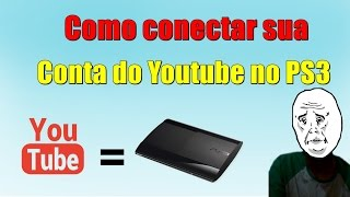 getlinkyoutube.com-Como Conectar sua Conta do Youtube no PS3.