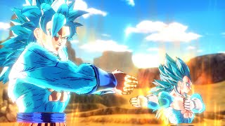 getlinkyoutube.com-Super Saiyan Blue 4 Fusion Cutscene (Mod)【HD】