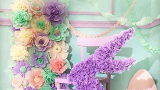 Весенний декор: Цветы | Зайка | Гирлянды (Пасха) | PAPER decor