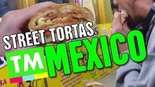 getlinkyoutube.com-Eating a Torta in Mexico City | Mexican Street Food [By True Mexico]